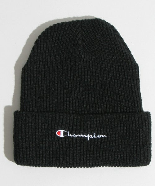 Image of Champion - Logo Beanie (Black)