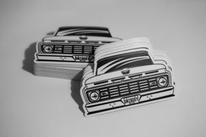 Image of 1963 Ford F100 Sticker