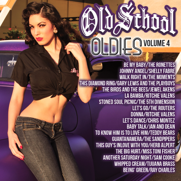 Image of OLD SCHOOL OLDIES VOLUME 4