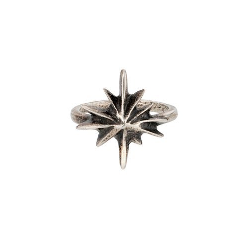 Image of Silver Starburst Ring