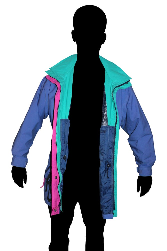 Image of Long ladies wind breaker