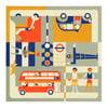 Multi-view puzzle - London