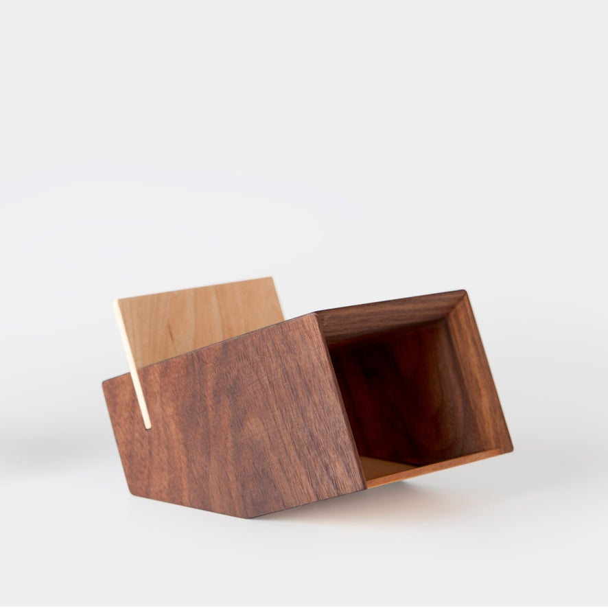 Image of BOX -walnut