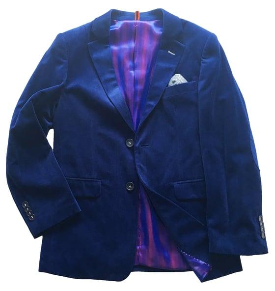 Image of Tonic Blue Velvet Jacket