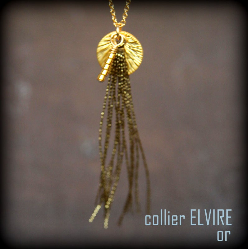 Image of ELVIRE  collier