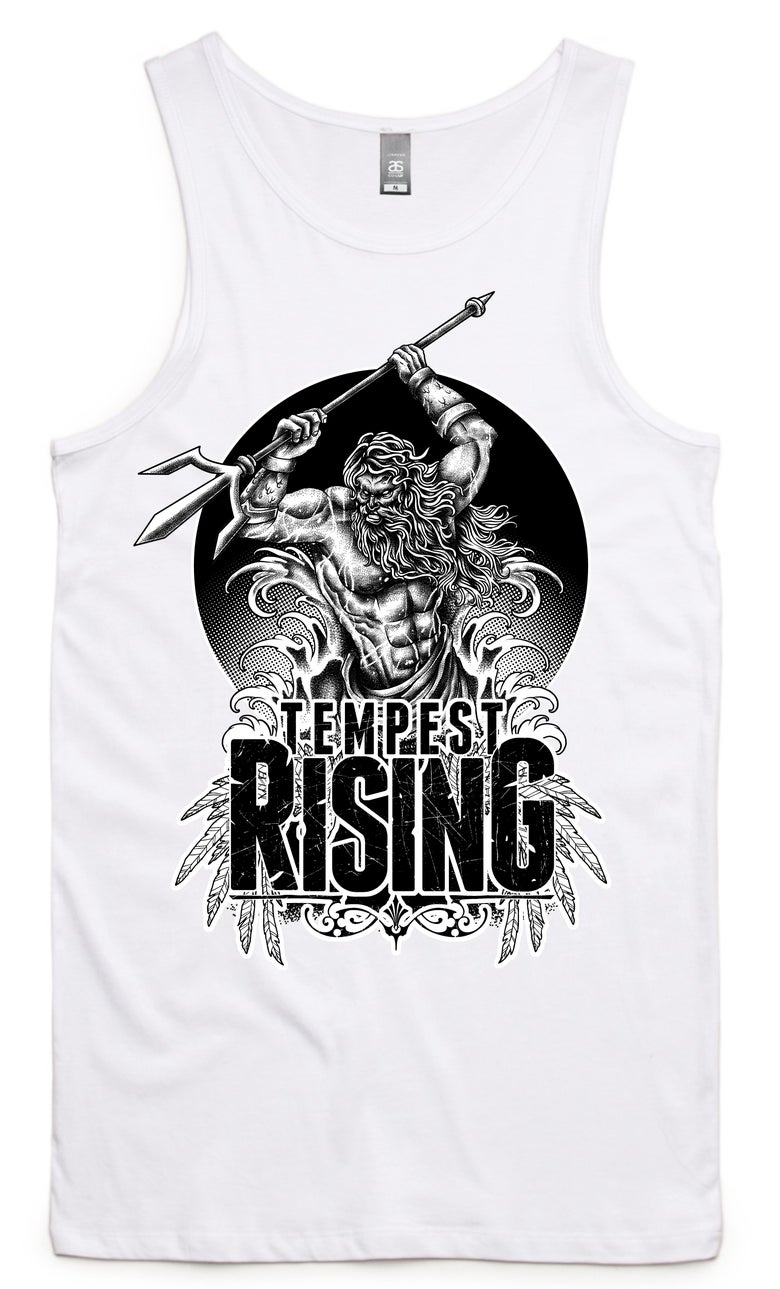 Image of Poseidon Tank WHITE