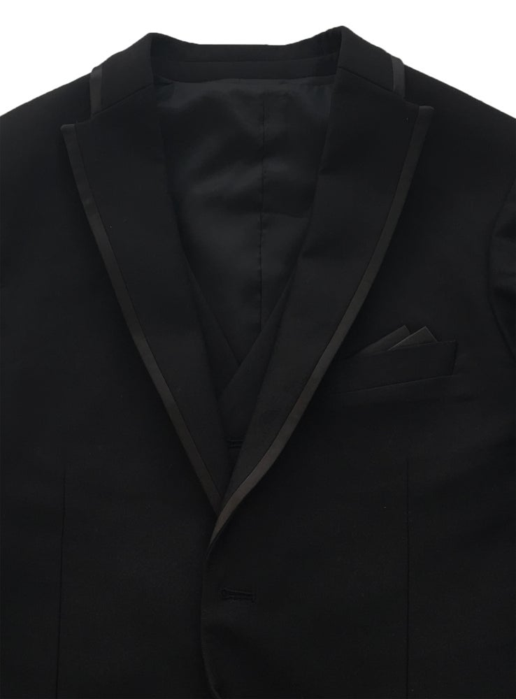Image of Black 3 Piece Dinner Suit