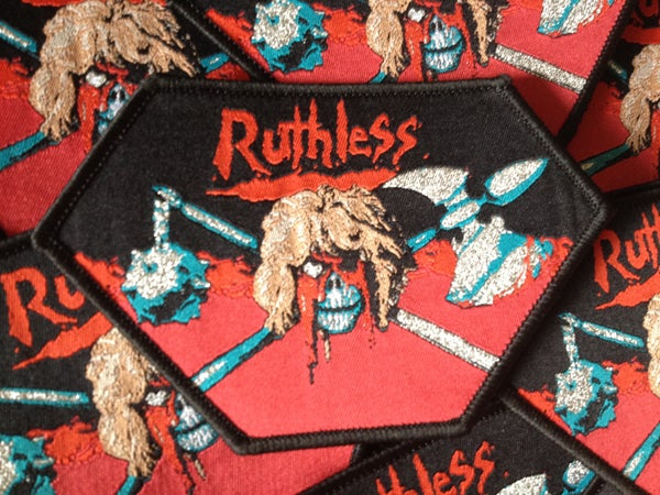 "Image of Ruthless - ""Discipline of Steel"" Bootleg Patch"