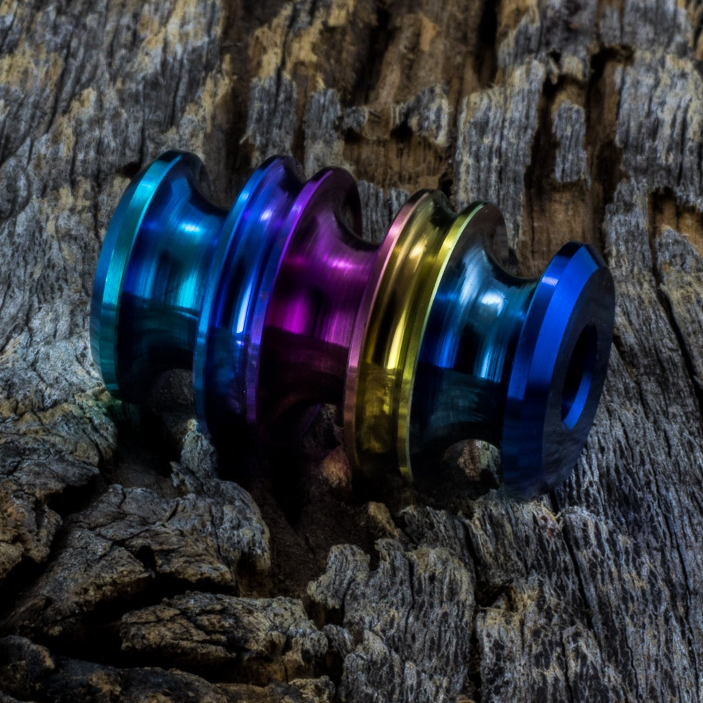 Image of Kraken Rainbow bead #1