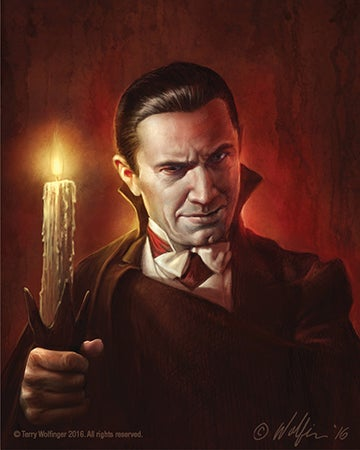 Image of Dracula Candle