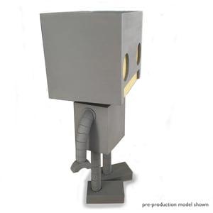 Full Scale Light Up Robot - Matt Q. Spangler Illustration