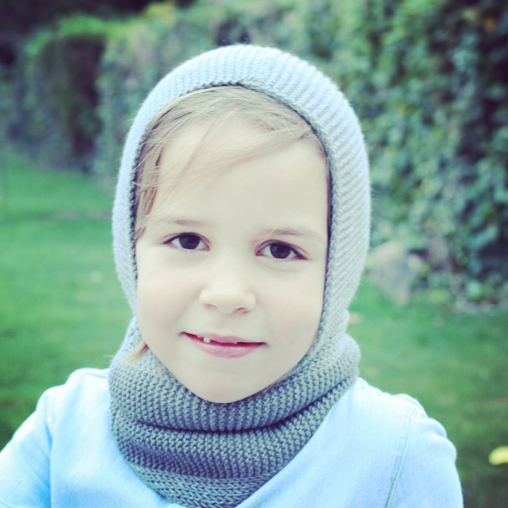 Image of Snood 100% Laine                 Gris anthracite