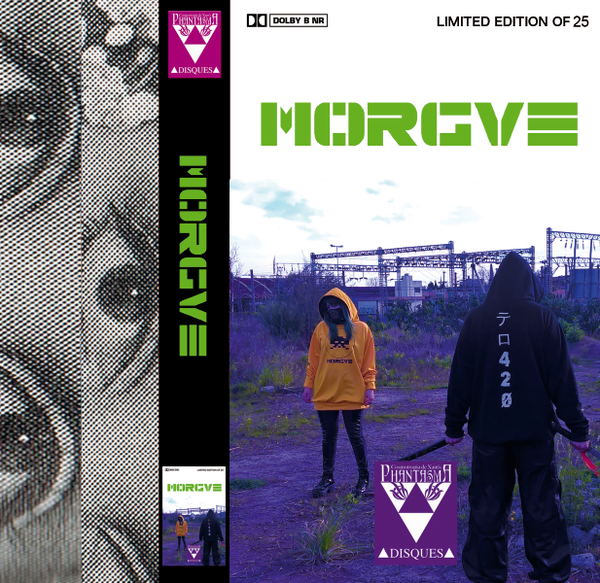 Image of [LIMITED 25, DESIGN A] MORGVE - テロ42Ø CASSETTE + Digital