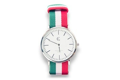 Image of LC Watch - Green/White/Red