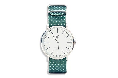 Image of LC Watch - Green/Dots