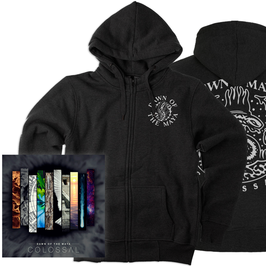 "Image of PACK: ""Colossal"" CD + ""Colossal"" Hoodie"