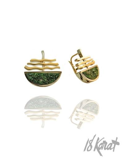 Gail's Uvarorite Earrings - 18Karat Studio+Gallery