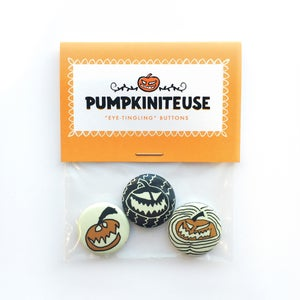 "Image of ""Eye-Tingling"" Buttons: Pumpkin Pack"