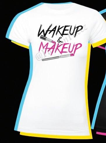 Image of Wakeup & Makeup - White