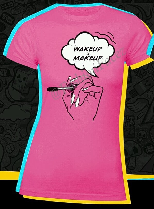 Image of Wakeup & Makeup - RETRO Hot Pink