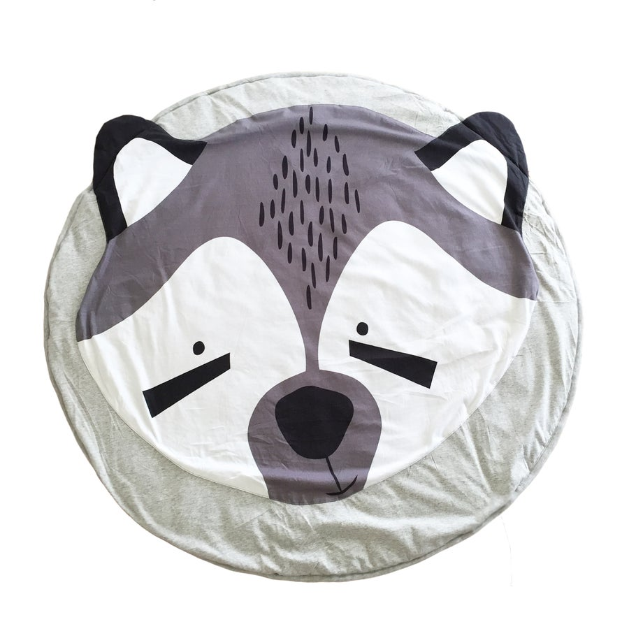 Image of Raccoon Playmat