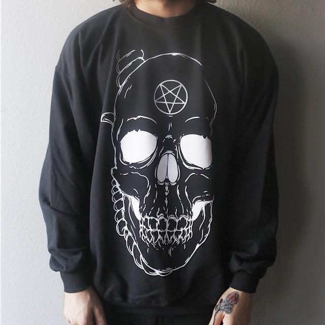 Image of Skull Crewneck