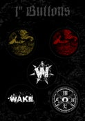 Image of WAKE Pin Pack