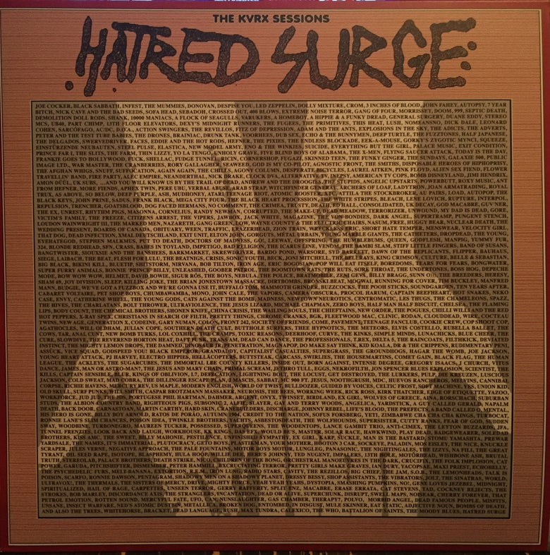 "Image of Hatred Surge ""The KVRX Sessions"" 12"" w/ flexi"