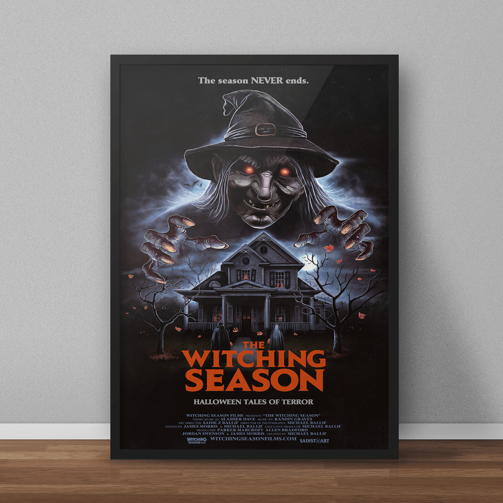 Image of The Witching Season 24x36 Poster