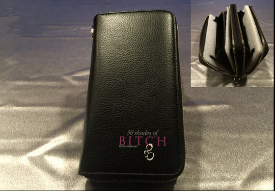 Image of 50 Shades of Bitch wallet