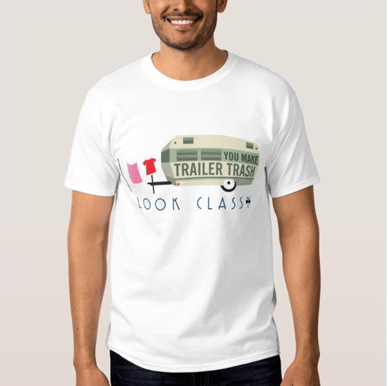 Image of Trailer Trash t-shirt