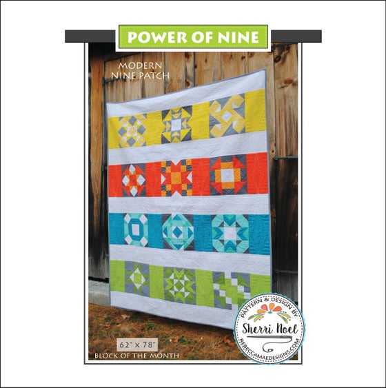 Image of Power of Nine ~ PDF Quilt Pattern