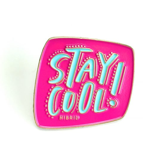 Image of STAY COOL Lapel Pin