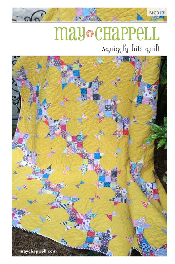 Image of Squiggly Bits Quilt Pattern