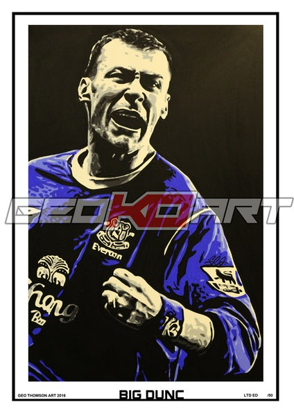 Image of DUNCAN FERGUSON EVERTON