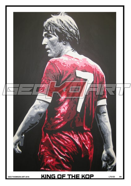 Image of KENNY DALGLISH LIVERPOOL