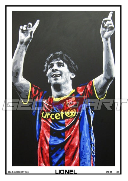 Image of MESSI BARCELONA