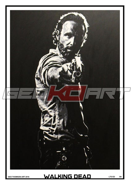 Image of THE WALKING DEAD RICK