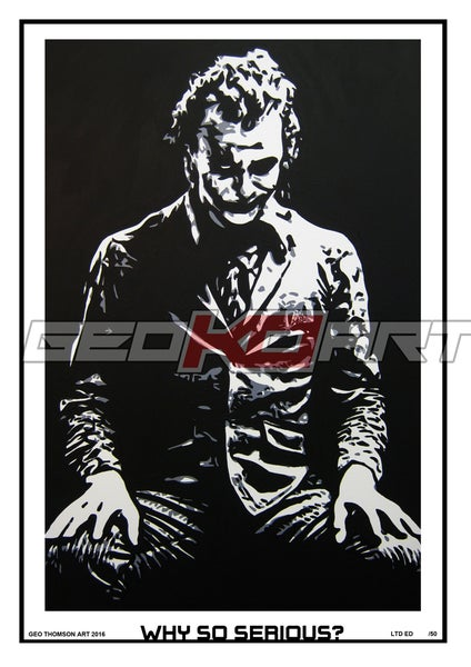 Image of JOKER HEATH LEDGER