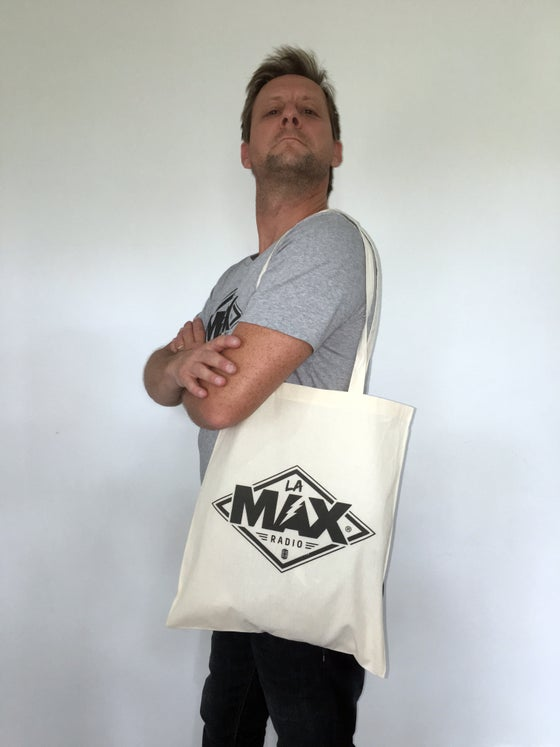 Image of Tote Bag Ecru - La MAX Radio