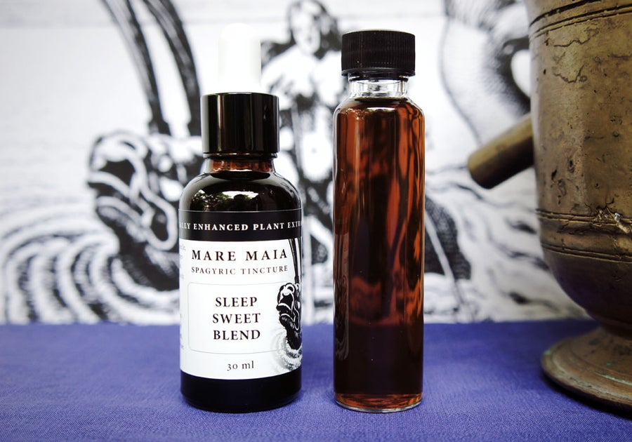 Image of SLEEP SWEET BLEND spagyric tincture - alchemically enhanced plant extraction