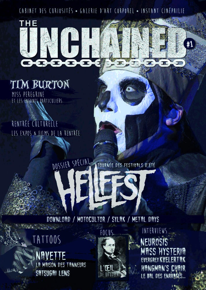 Image of THE UNCHAINED MAGAZINE #1