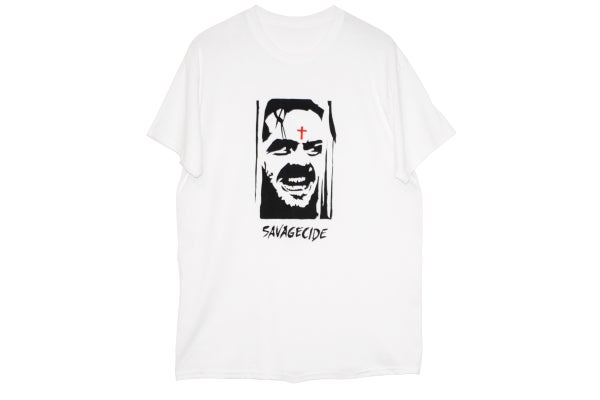 "Image of ""Savagecide"" T-Shirt (White)"