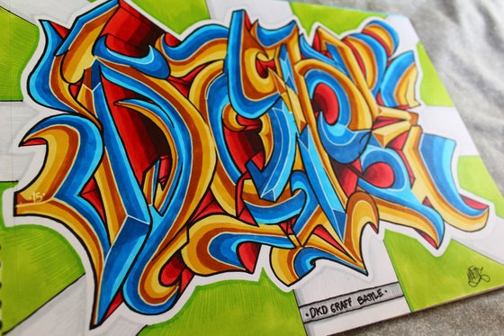 Image of Graffiti DOPE