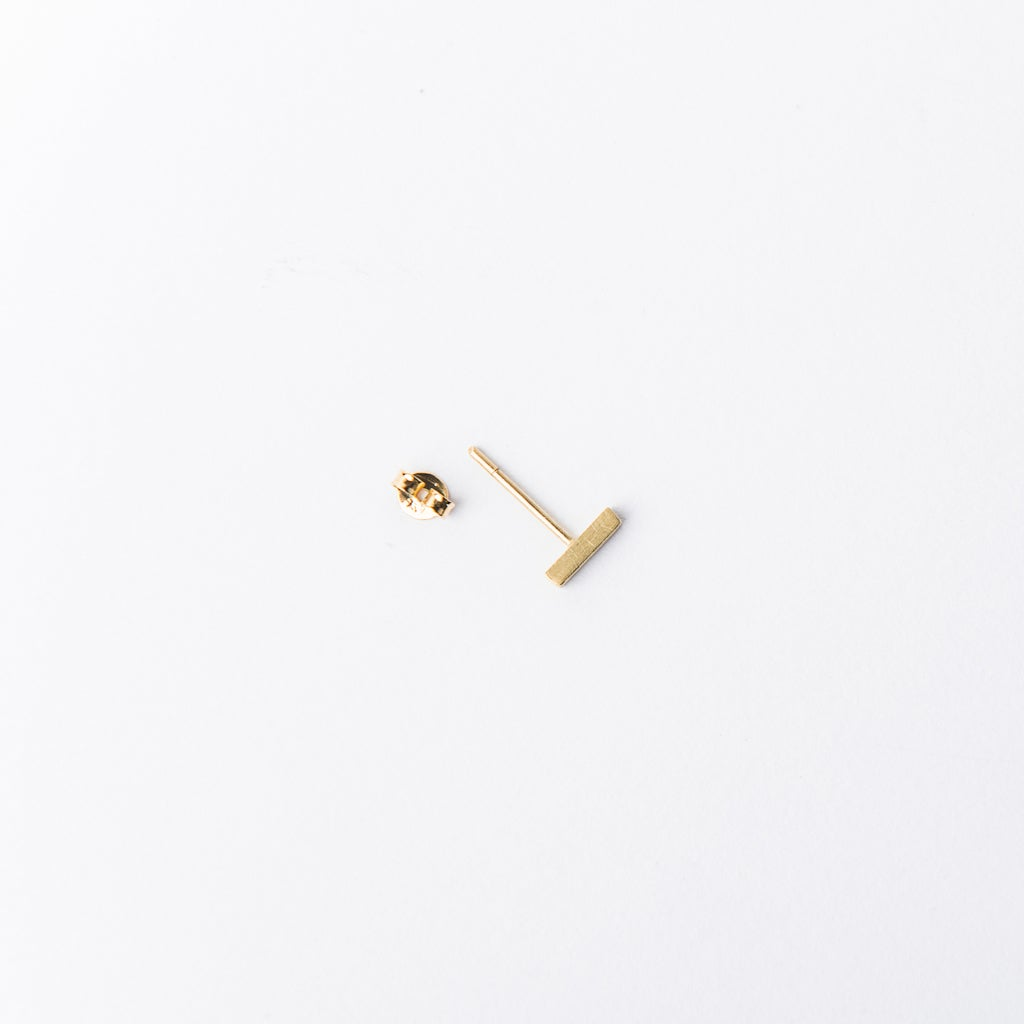 Imagen de Minanaro single small stick earring