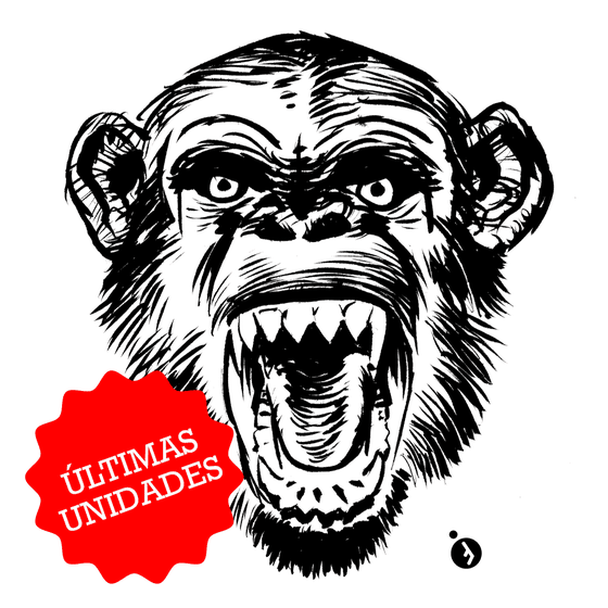 Image of Camiseta Mono Loco / Crazy Monkey Tee