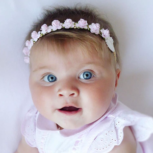 Image of BABY PINK BASED HEADBANDS