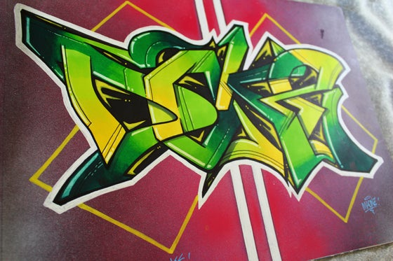 Image of Graffiti DOKE