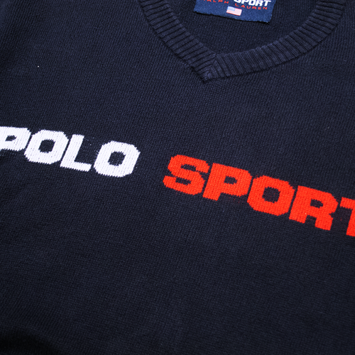 Image of Polo Sport Trainer Vintage Sweater