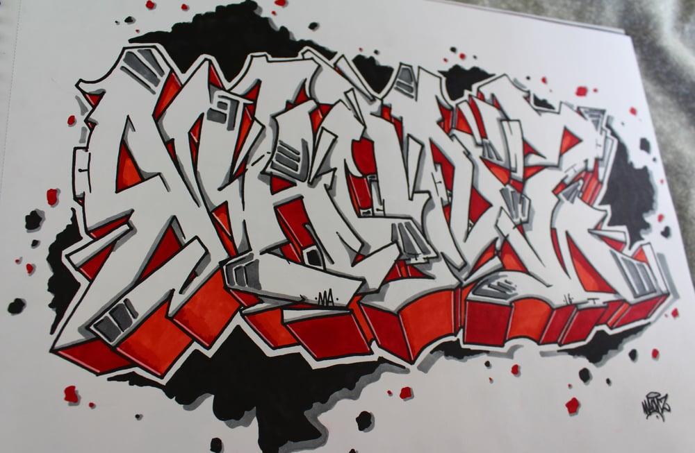 Image of Graffiti MAONZ 1º